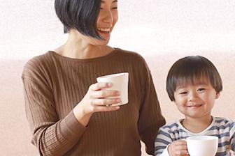 ノンカフェインだから妊婦さんもお子様も安心して飲めます。