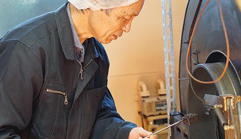 日本人のDNAを呼び起こす焙煎技術。
